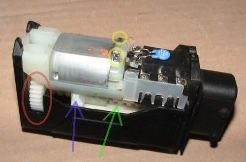 Circuito Levanta Vidrios Electricos : Cambio reparación de los actuadores del cierrre